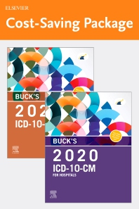 Buck's 2020 ICD-10-CM Hospital Edition and Buck's 2020 ICD-10-PCS Edition Package - 1st Edition - ISBN: 9780323749497