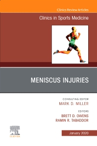 Cover image for Meniscus Injuries, An Issue of Clinics in Sports Medicine