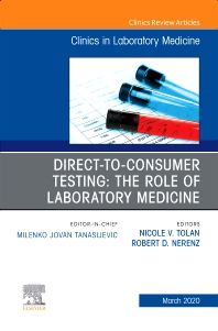 Cover image for Direct to Consumer Testing: The Role of Laboratory Medicine, An Issue of Cardiology Clinics