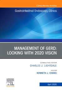 Cover image for Management of GERD, An Issue of Gastrointestinal Endoscopy Clinics