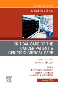 Cover image for Critical Care of the Cancer Patient, An Issue of Critical Care Clinics