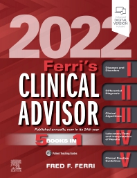 Ferri's Clinical Advisor 2022 - 1st Edition - ISBN: 9780323755702
