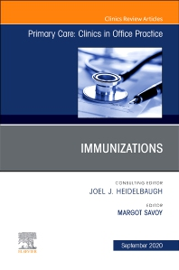 Cover image for Immunizations, An Issue of Primary Care: Clinics in Office Practice