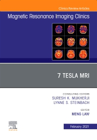 Cover image for 7T MRI, An Issue of Magnetic Resonance Imaging Clinics of North America