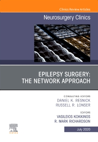 Cover image for Epilepsy Surgery: The Network Approach, An Issue of Neurosurgery Clinics of North America