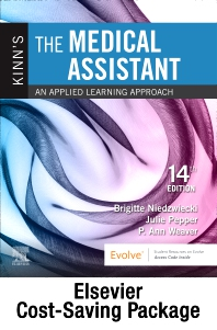 Kinn's The Medical Assistant - Text + Study Guide + Virtual Medical Office for Medical Assisting package - 14th Edition - ISBN: 9780323758345