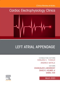 Cover image for Left Atrial Appendage , An Issue of Cardiac Electrophysiology Clinics