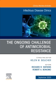Cover image for The Ongoing Challenge of Antimicrobial Resistance, An Issue of Infectious Disease Clinics of North America