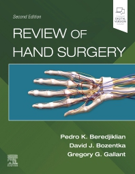 Cover image for Review of Hand Surgery