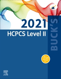 Cover image for Buck's 2021 HCPCS Level II