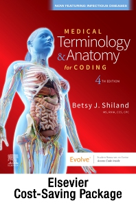 Cover image for Medical Terminology Online for Medical Terminology & Anatomy for Coding (Access Code and Textbook Package)
