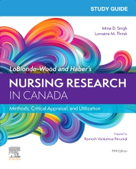Cover image for Study Guide for LoBiondo-Wood and Haber's Nursing Research in Canada, 5e