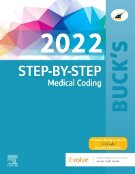 Cover image for Buck's Step-by-Step Medical Coding, 2022 Edition