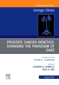 Cover image for Prostate Cancer Genetics: Changing the Paradigm of Care, An Issue of Urologic Clinics