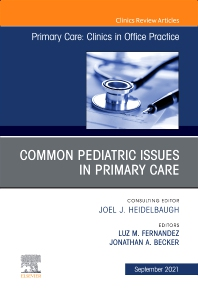 Cover image for CommonPediatric Issues, An Issue of Primary Care: Clinics in Office Practice
