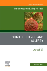 Cover image for Climate Change and Allergy, An Issue of Immunology and Allergy Clinics of North America