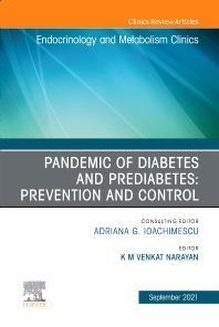 Cover image for Pandemic of Diabetes and Prediabetes: Prevention and Control, An Issue of Endocrinology and Metabolism Clinics of North America