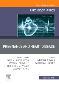 Cover image for Pregnancy and Heart Disease, An Issue of Cardiology Clinics