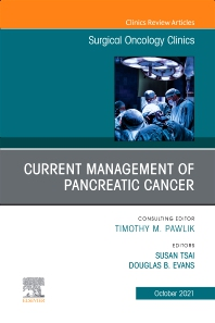 Cover image for Management of Pancreatic Cancer, An Issue of Surgical Oncology Clinics of North America