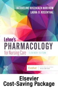 Lehne's Pharmacology for Nursing Care - Text and Pharmacology Online package - 11th Edition - ISBN: 9780323825290