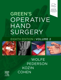 Cover image for PART - Green's Operative Hand Surgery Volume 2