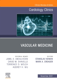 Cover image for Vascular Medicine, An Issue of Cardiology Clinics