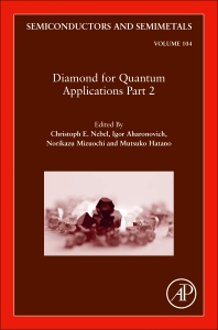 Cover image for Diamond for Quantum Applications Part 2