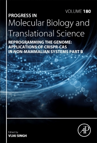 Cover image for Reprogramming the Genome: Applications of CRISPR-Cas in non-mammalian systems part B