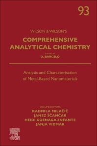 Analysis and Characterisation of Metal-Based Nanomaterials - 1st Edition - ISBN: 9780323853057, 9780323853064