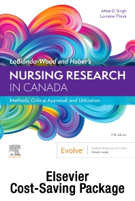 Cover image for Nursing Research in Canada - Text and Study Guide Package