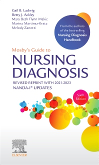 Mosby's Guide to Nursing Diagnosis, 6th Edition Revised Reprint with 2021-2023 NANDA-I® Updates - 6th Edition - ISBN: 9780323875110