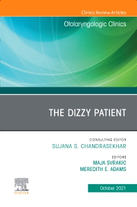 Cover image for The Dizzy Patient, An Issue of Otolaryngologic Clinics of North America