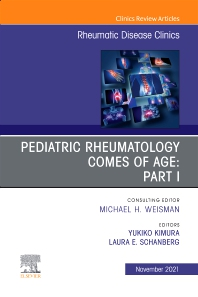 Cover image for Pediatric Rheumatology Part I, An Issue of Rheumatic Disease Clinics of North America