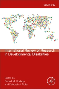 International Review Research in Developmental Disabilities - 1st Edition - ISBN: 9780323901604