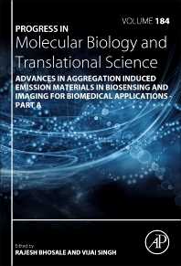 Cover image for Advances in Aggregation Induced Emission Materials in Biosensing and Imaging for Biomedical Applications