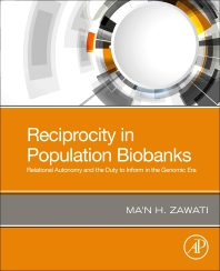 Cover image for Reciprocity in Population Biobanks