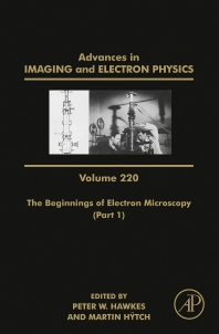 Cover image for The Beginnings of Electron Microscopy