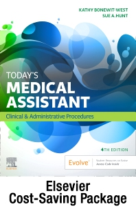 Today's Medical Assistant - Book, Study Guide, and SimChart for the Medical Office 2022 Edition Package - 4th Edition - ISBN: 9780323932066
