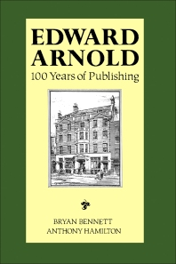 Edward Arnold - 1st Edition - ISBN: 9780340541098, 9781483191836