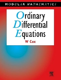 Ordinary Differential Equations, 1st Edition,William Cox,ISBN9780340632031