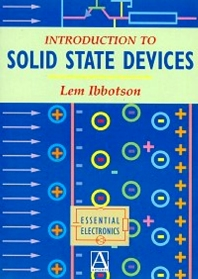 Cover image for Introduction to Solid State Devices