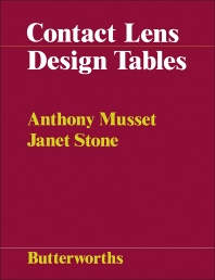 Contact Lens Design Tables - 1st Edition - ISBN: 9780407002197, 9781483141183