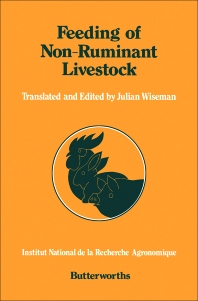 Feeding of Non-ruminant Livestock - 1st Edition - ISBN: 9780407004603, 9781483100319