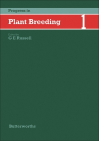 Progress in Plant Breeding—1 - 1st Edition - ISBN: 9780407007802, 9781483100074