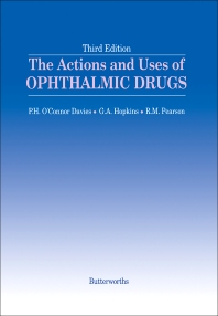 The Actions and Uses of Ophthalmic Drugs - 3rd Edition - ISBN: 9780407007994, 9781483192048