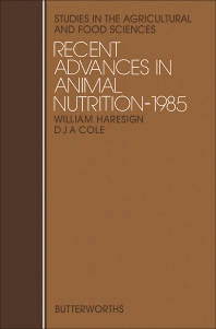 Recent Advances in Animal Nutrition - 1st Edition - ISBN: 9780407011618, 9781483100289