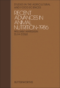 Recent Advances in Animal Nutrition - 1st Edition - ISBN: 9780407011625, 9781483100302