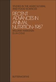 Recent Advances in Animal Nutrition - 1st Edition - ISBN: 9780407011632, 9781483100203