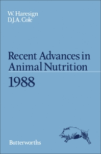 Recent Advances in Animal Nutrition 1988 - 1st Edition - ISBN: 9780407011656, 9781483100227