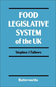 Food Legislative System of the UK - 1st Edition - ISBN: 9780407015401, 9781483182711